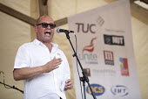 Steve Turner, UNITE speaking Tolpuddle Martyrs Festival, Dorset. - Jess Hurd - 16-07-2017