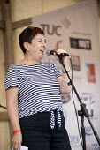 Mary Bousted, TUC President, Tolpuddle Martyrs Festival, Dorset. - Jess Hurd - 16-07-2017