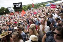 Jeremy Corbyn speaking Tolpuddle Martyrs Festival, Dorset. - Jess Hurd - 28-07-2017