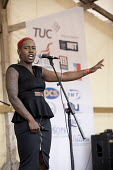 Shakira Martin NUS speaking Tolpuddle Martyrs Festival 2017, Dorset - Jess Hurd - 2010s,2017,ACE,BAME,BAMEs,Black,Black and White,BME,bmes,diversity,Dorset,equal rights,equality,ethnic,ethnicity,FEMALE,feminism,feminist,feminists,Festival,festivals,member,member members,members,min