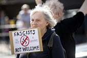 Anti fascist protestors confronting National Front march, Grantham, Lincolnshire - Jess Hurd - 19-08-2017