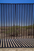 Imperial Valley, California, USA US Mexican border wall - David Bacon - 18-08-2017