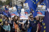 Peoples March for Europe, pro EU demonstration, London. - Jess Hurd - 2010s,2017,activist,activists,Brexit,CAMPAIGN,campaigner,campaigners,CAMPAIGNING,CAMPAIGNS,democrat,DEMONSTRATING,demonstration,DEMONSTRATIONS,EU,Europe,European Union,FEMALE,flag,flags,Lib Dem,Lib De