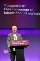 Peter Taylor NASUWT speaking TUC Congress, Brighton 2017. - Jess Hurd - 10-09-2017