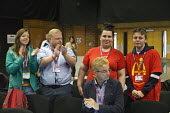 Appluase for young McDonalds strike workers TUC Congress Brighton 2017 - John Harris - 11-09-2017