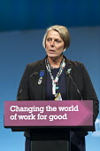 Louise Regan NUT NEU speaking TUC Congress Brighton 2017 - John Harris - 11-09-2017