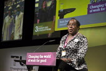 Ruth Duncan NASUWT speaking TUC Congress Brighton 2017 - John Harris - 11-09-2017