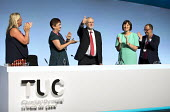 Jeremy Corbyn speaking TUC Congress, Brighton 2017 - Jess Hurd - 2010s,2017,applauding,applause,Brighton,Conference,conferences,Congress,FEMALE,gen sec,Jeremy Corbyn,Labour Party,member,member members,members,MP,people,person,persons,POL,political,POLITICIAN,POLITI