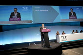 Huber Ballesteros speaking TUC Congress, Brighton 2017 - Jess Hurd - 2010s,2017,Brighton,Colombia,Colombian trade union congress,Conference,conferences,CUT,FENSUAGRO,Huber Ballesteros,Justice for Colombia,member,member members,members,SPEAKER,SPEAKERS,speaking,SPEECH,T