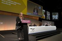 Yvonne Pattison NAPO speaking TUC Congress Brighton 2017 - John Harris - 12-09-2017