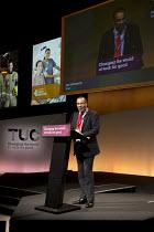 Ian Lawrence, NAPO speaking TUC Congress Brighton 2017 - John Harris - 12-09-2017
