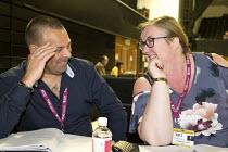 Ian Lawrence NAPO and Yvonne Pattison delegation TUC Congress Brighton 2017 - John Harris - 13-09-2017