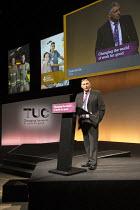 Eddie Saville HCSA speaking TUC Congress Brighton 2017 - John Harris - 2010s,2017,Conference,conferences,Eddie Saville,HCSA,member,member members,members,SPEAKER,SPEAKERS,speaking,SPEECH,Trade Union,Trade Union,Trade Unions,Trades Union,Trades Union,Trades unions,TUC,TUC