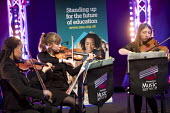 Hampshire String Quartet, MFY,NEU playing at TUC Congress, Brighton 2017 - Jess Hurd - 2010s,2017,BAME,BAMEs,Black,BME,bmes,Brighton,Conference,conferences,Congress,diversity,ethnic,ethnicity,Hampshire String Quartet,melody,member,member members,members,MFY,minorities,minority,music,MUS