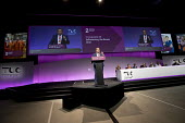 Manuel Cortez, TSSA speaking TUC Congress, Brighton 2017 - Jess Hurd - 13-09-2017