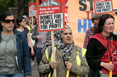 Homes For People Not For Profit. StopHDV protest against proposed privatisation of Haringey council estates, Tottenham, London - Philip Wolmuth - 2010s,2017,activist,activists,against,Anti privatisation,Anti privatisation,anti privatization,apartments,BAME,BAMEs,Black,Black and White,BME,bmes,campaign,campaigning,CAMPAIGNS,communities,community