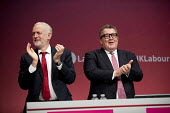 Jeremy Corbyn with Tom Watson, Labour Party Conference, Brighton 2017 - Jess Hurd - 24-09-2017