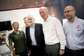 Jeremy Corbyn visits the FBU stand with Matt Wrack at Labour Party Conference, Brighton 2017 - Jess Hurd - 2010s,2017,Brighton,Conference,conferences,FBU,Jeremy Corbyn,Labour Party Conference,Matt Wrack,member,member members,members,MP,MPs,Party,POL,political,politician,politicians,Politics,Trade Union,Tra