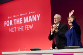 Emily Thornberry and Jeremy Corbyn Labour Party Conference, Brighton 2017 - Jess Hurd - 2010s,2017,applauding,applause,Brighton,Conference,conferences,Emily Thornberry,Jeremy Corbyn,Labour Party Conference,MP,MPs,Party,POL,political,politician,politicians,Politics