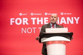 Mick Whelan, ASLEF speaking Labour Party Conference, Brighton 2017 - Jess Hurd - 25-09-2017