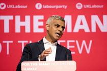 Sadiq Khan speaking, Labour Party Conference, Brighton 2017 - Jess Hurd - 25-09-2017