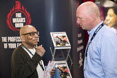 Matt Wrack with Karl Cosmo at the FBU stand, Labour Party Conference, Brighton 2017 - Jess Hurd - 2010s,2017,BAME,BAMEs,Black,BME,bmes,Brighton,Conference,conferences,diversity,ethnic,ethnicity,FBU,Karl Cosmo,Labour Party Conference,Matt Wrack,member,member members,members,minorities,minority,Part