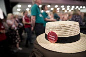 Jeremy Corbyn speaking, Labour Party Conference, Brighton 2017 - Jess Hurd - 2010s,2017,Brighton,Conference,conferences,hat,hats,Jeremy Corbyn,Labour Party,Labour Party Conference,Party,POL,political,POLITICIAN,POLITICIANS,Politics,SPEAKER,SPEAKERS,speaking,speech