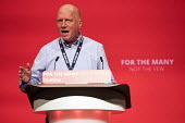 Matt Wrack, FBU speaking Labour Party Conference, Brighton 2017 - Jess Hurd - 26-09-2017