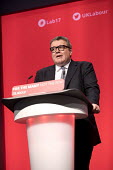 Tom Watson speaking Labour Party Conference, Brighton 2017 - Jess Hurd - 26-09-2017