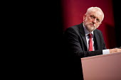 Jeremy Corbyn listening to Tom Watson speaking Labour Party Conference, Brighton 2017 - Jess Hurd - 26-09-2017