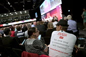 Labour Party Conference, Brighton 2017 - Jess Hurd - 2010s,2017,Brighton,Conference,conferences,delegate,delegates,Labour Party Conference,male,man,men,Party,people,person,persons,POL,political,POLITICIAN,POLITICIANS,Politics,supporter,supporters,t shir