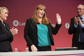 Angela Rayner MP speaking Labour Party Conference, Brighton 2017 - Jess Hurd - 26-09-2017