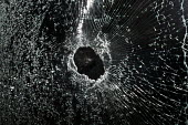 Broken double glazed door, burglars were disturbed whist attempting to break in to a house by shattering windows and a door, Warwickshire - John Harris - 2010s,2017,break,Break in,broken,burglar,burglars,burglary,CLJ,Crime,damage,damaged,double glazing,glass,glazed,home,homes,house,houses,smashed,stones,Throwing Rocks,Warwickshire,Window,Windows