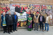 Laxmi Ben Patel a former striker. Unveiling of the Grunwick 40 community mural, Chapter Road, Brent north London opposite the site of the former Grunwick Factory that was the scene of the union recogn... - Stefano Cagnoni - 2010s,2017,ACE,Anna Ferrie,APEX,art,arts,artwork,artworks,Asian,Asians,BAME,BAMEs,BEMM,BEMMS,Black,BME,bmes,COMMEMORATE,COMMEMORATING,commemoration,COMMEMORATIONS,commemorative,communities,community,c