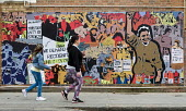 Grunwick 40 community mural in Chapter Road Brent north London opposite the site of the former Grunwick Factory and the union recognition dispute 40 years ago between 1976 and 1978 - Stefano Cagnoni - 2010s,2017,ACE,Anna Ferrie,APEX,art,arts,artwork,artworks,Asian,Asians,BAME,BAMEs,BEMM,BEMMS,Black,BME,bmes,COMMEMORATE,COMMEMORATING,commemoration,COMMEMORATIONS,commemorative,communities,community,c