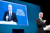 Michael Gove speaking Conservative Party Conference, Manchester 2017 - Jess Hurd - 2010s,2017,Conference,conferences,CONSERVATIVE,Conservative Party,Conservative Party Conference,conservatives,male,man,Manchester,men,Michael Gove,MP,MPs,Party,people,person,persons,POL,political,poli
