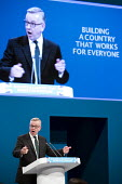 Michael Gove speaking Conservative Party Conference, Manchester 2017 - Jess Hurd - 02-10-2017