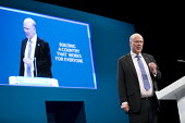 Chris Grayling speaking Conservative Party Conference, Manchester 2017 - Jess Hurd - 02-10-2017