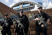 Armed police at Conservative Party Conference, Manchester 2017 - Jess Hurd - CTSFO,2010s,2017,adult,adults,anti terrorism unit,Armed,Armed police officer,CLJ,Conference,conferences,CONSERVATIVE,Conservative Party,Conservative Party Conference,conservatives,Counter Terrorist Sp