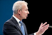 David Lidington speaking Conservative Party Conference, Manchester 2017 - Jess Hurd - 2010s,2017,Conference,conferences,CONSERVATIVE,Conservative Party,Conservative Party Conference,conservatives,David Lidington,Lord Chancellor,male,man,Manchester,men,MP,MPs,Party,people,person,persons