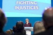 Amber Rudd speaking Conservative Party Conference, Manchester 2017 - Jess Hurd - 03-10-2017