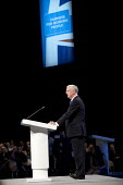 Michael Fallon speaking Conservative Party Conference, Manchester 2017 - Jess Hurd - 2010s,2017,Conference,conferences,CONSERVATIVE,Conservative Party,Conservative Party Conference,conservatives,male,man,Manchester,men,Michael Fallon,Party,people,person,persons,POL,political,POLITICIA