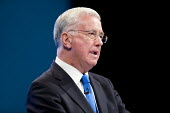 Michael Fallon speaking Conservative Party Conference, Manchester 2017 - Jess Hurd - 03-10-2017