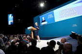 Theresa May speaking Conservative Party Conference, Manchester 2017 - Jess Hurd - 04-10-2017