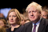 Boris Johnson and Amber Rudd, Conservative Party Conference, Manchester 2017 - Jess Hurd - 2010s,2017,Amber Rudd,Boris Johnson,Conference,conferences,CONSERVATIVE,Conservative Party,Conservative Party Conference,conservatives,male,man,Manchester,men,Party,people,person,persons,POL,political