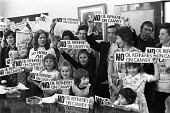 Canvey Islanders protest at the oil industry on the island 1973 - NLA - 1970s,1973,activist,activists,against,CAMPAIGNING,CAMPAIGNS,Canvey Island,capitalism,capitalist,child,CHILDHOOD,children,communities,community,Community Action Group,DEMONSTRATING,Demonstration,enviro