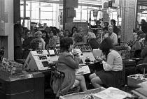 Lucas Aerospace, Birmingham, 1974 Workers occupy factory against redundancies - NLA - 28-03-1974