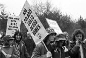 CND march from Aldermaston to London, 1974 - NLA - 1970s,1974,activist,activists,against,Aldermaston,Aldermaston march,Anti War,Antiwar,campaign,Campaign for Nuclear Disarmament,campaigner,campaigners,campaigning,CAMPAIGNS,CND,CND Easter march,CND Sym
