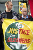RMT Justice for Tube cleaners protest, City Hall, London, against outsourcing on London underground, for sick and holiday pay, travel passes and 10.00 pounds per hour - Jess Hurd - 2010s,2017,activist,activists,against,CAMPAIGNING,CAMPAIGNS,City Hall,cleaner,cleaners,CLEANING,DEMONSTRATING,demonstration,EARNINGS,holiday pay,Income,inequality,journey,journeys,Justice for Cleaners