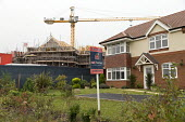 Care home and new housing under construction, Evesham - John Harris - 16-10-2017
